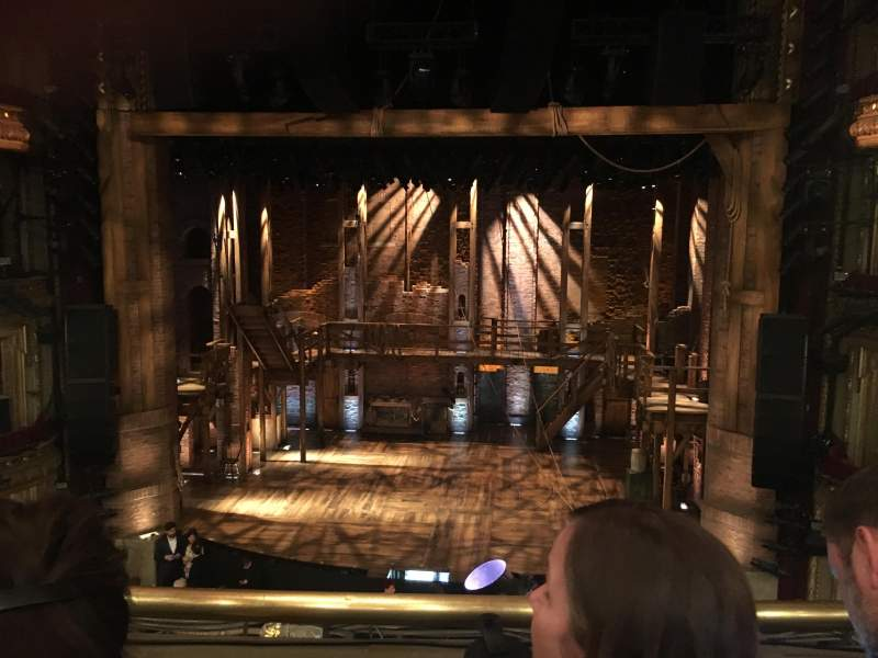 Seating view for CIBC Theatre Section Mezzanine RC Row B Seat 306