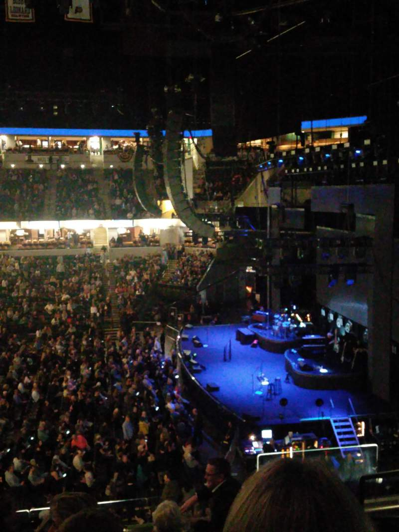 Seating view for Bankers Life Fieldhouse Section 103 Row 6 Seat 3