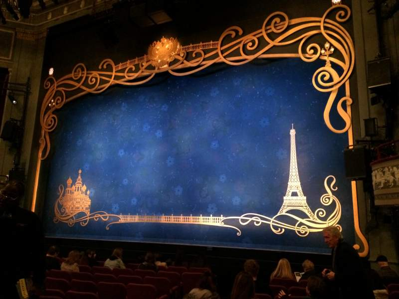 Seating view for Broadhurst Theatre Section Orchestra Right Row L Seat 10