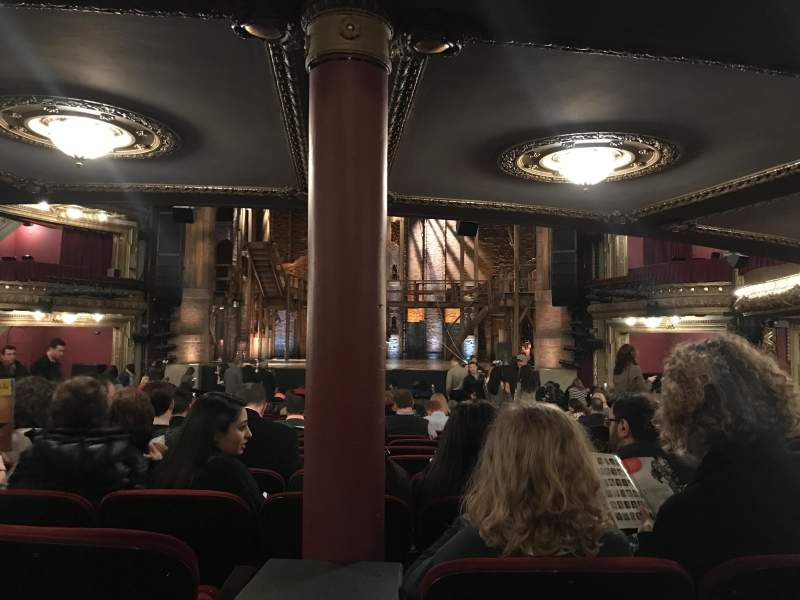 Seating view for CIBC Theatre Section Orchestra C Row Y Seat 116