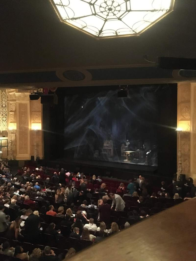 Seating view for Detroit Opera House Section Box 15 Row 1 Seat 3