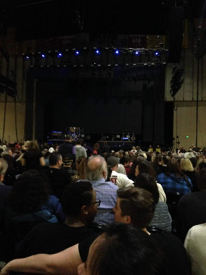 Seating view for Royal Farms Arena Section Floor 1 Row DD Seat 10