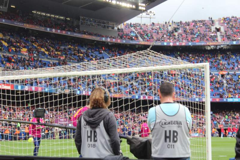 Seating view for Camp Nou Section 123 Row 2 Seat 12