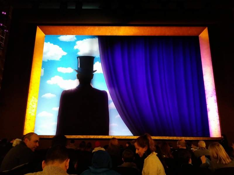 Seating view for Lunt-Fontanne Theatre Section Orchestra C Row N Seat 107