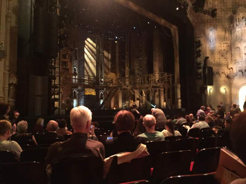 Seating view for Orpheum Theatre (San Francisco) Section Orchestra L Row M Seat 13