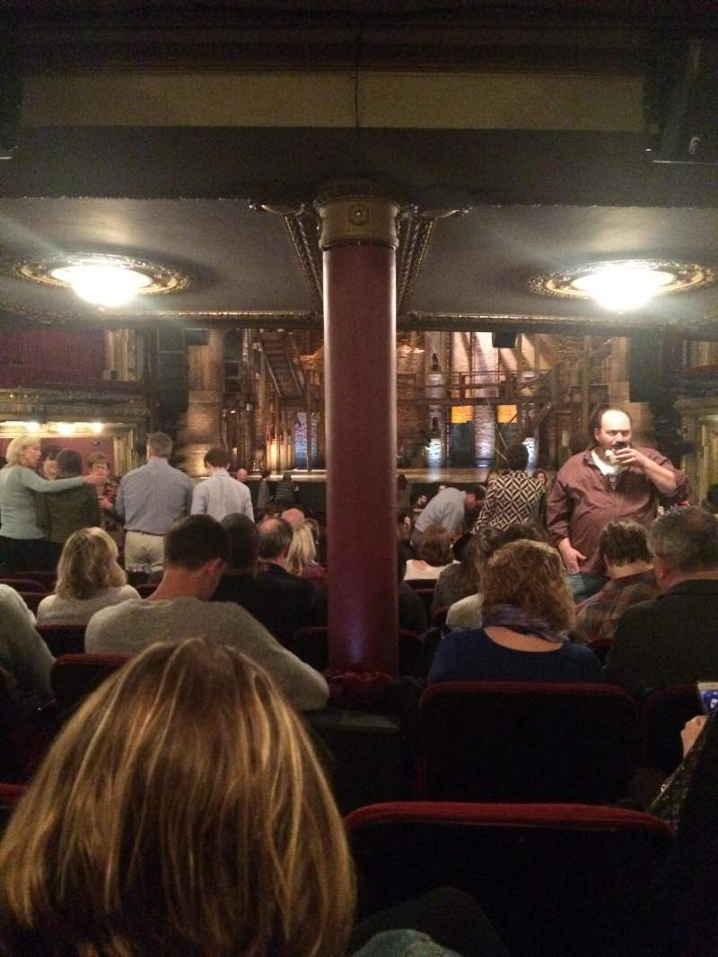 Seating view for CIBC Theatre Section Orchestra L Row Z Seat 17