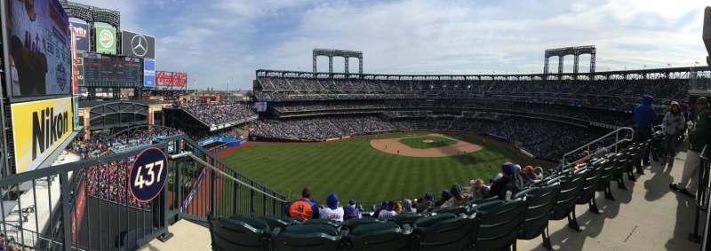 Seating view for Citi Field Section 437