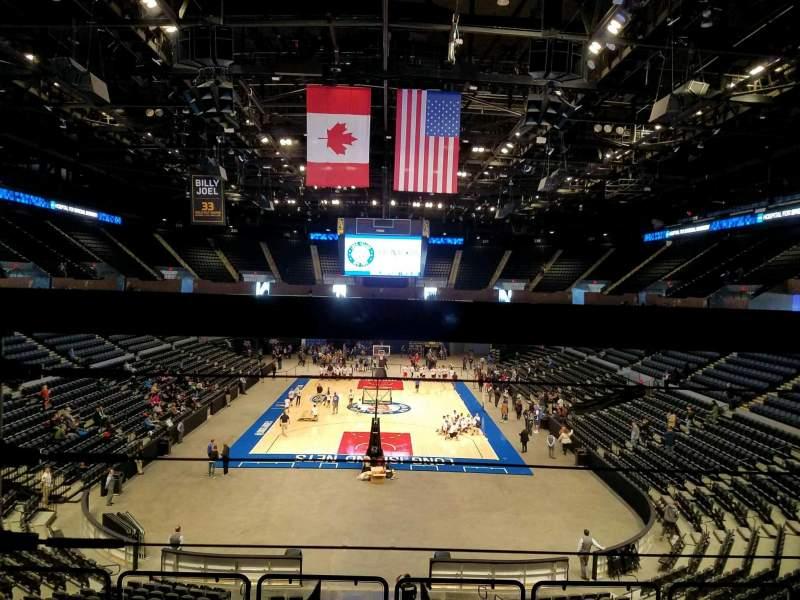 Nassau Veterans Memorial Coliseum, section: 213, row: 1, seat: 6
