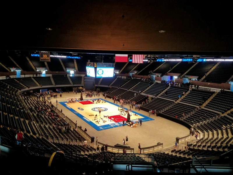 Seating view for Nassau Veterans Memorial Coliseum Section 216 Row 11 Seat 14