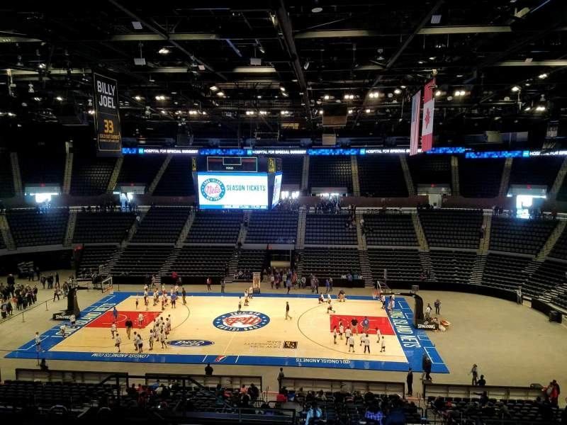 Seating view for Nassau Veterans Memorial Coliseum Section 222 Row 9 Seat 11