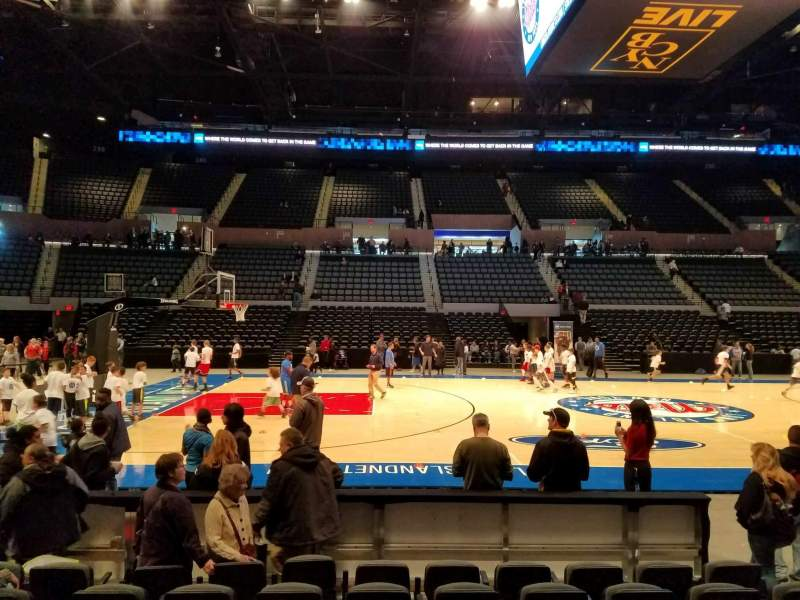Seating view for Nassau Veterans Memorial Coliseum Section 18 Row 6 Seat 6