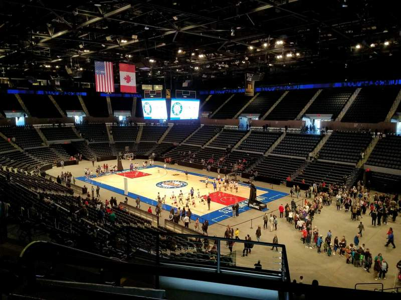 Seating view for Nassau Veterans Memorial Coliseum Section 238 Row 6 Seat 9