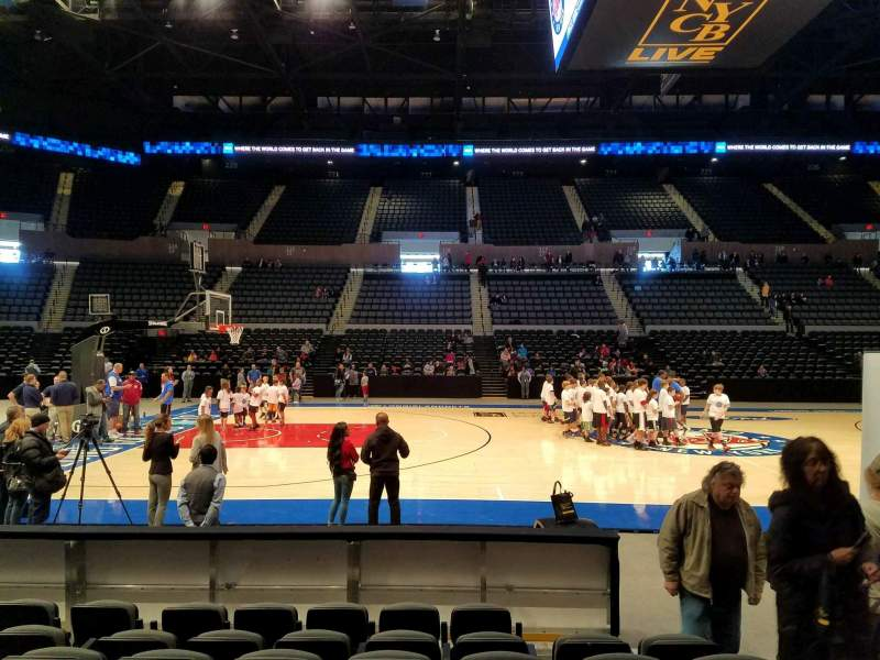 Seating view for Nassau Veterans Memorial Coliseum Section 4 Row 7 Seat 3