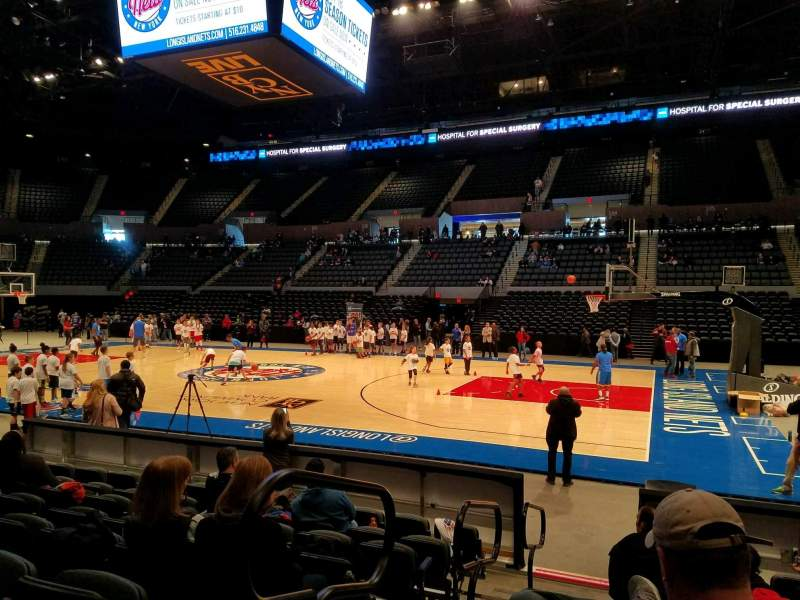 Seating view for Nassau Veterans Memorial Coliseum Section 15 Row 7 Seat 14