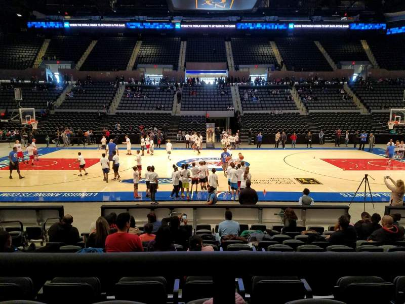 Seating view for Nassau Veterans Memorial Coliseum Section 117 Row 1 Seat 9