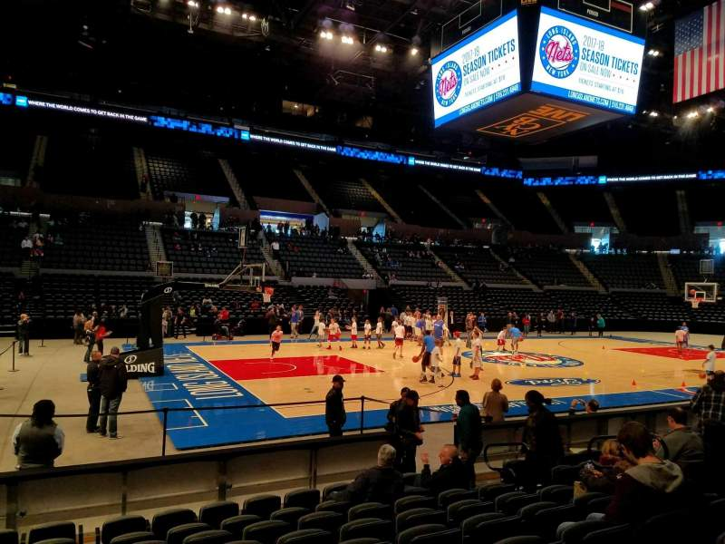 Seating view for Nassau Veterans Memorial Coliseum Section 19 Row 8 Seat 9