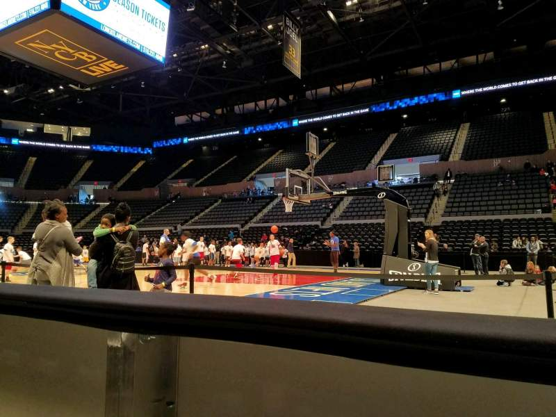 Seating view for Nassau Veterans Memorial Coliseum Section 1 Row AA Seat 1