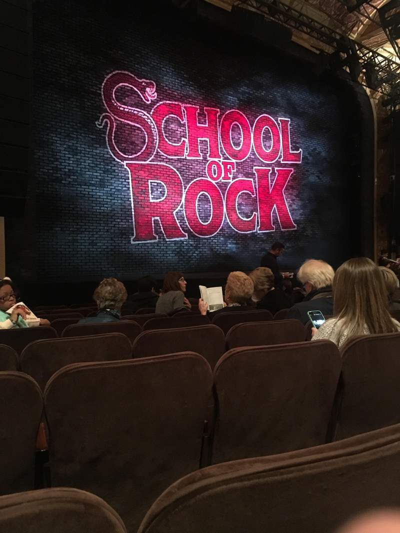 Seating view for Winter Garden Theatre Section Orchestra L Row K Seat 15