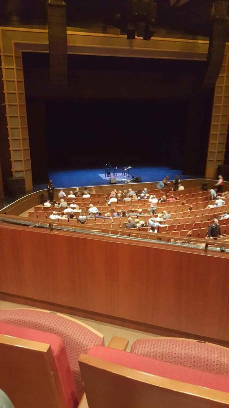 Seating view for Cobb Energy Performing Arts Centre Section C-FTMZ Row B Seat 51