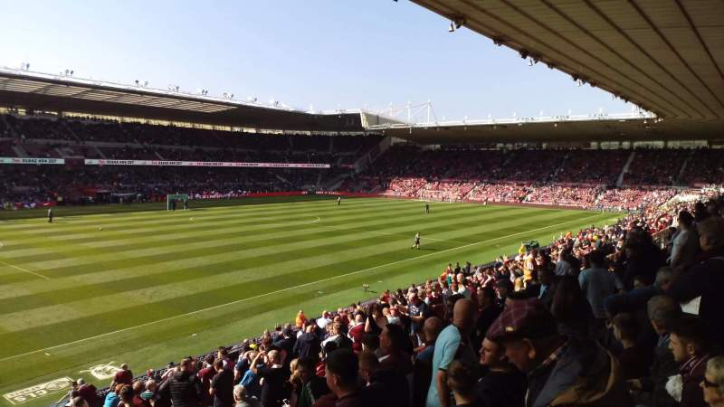 Seating view for Riverside Stadium Section 47 Row 20 Seat 238