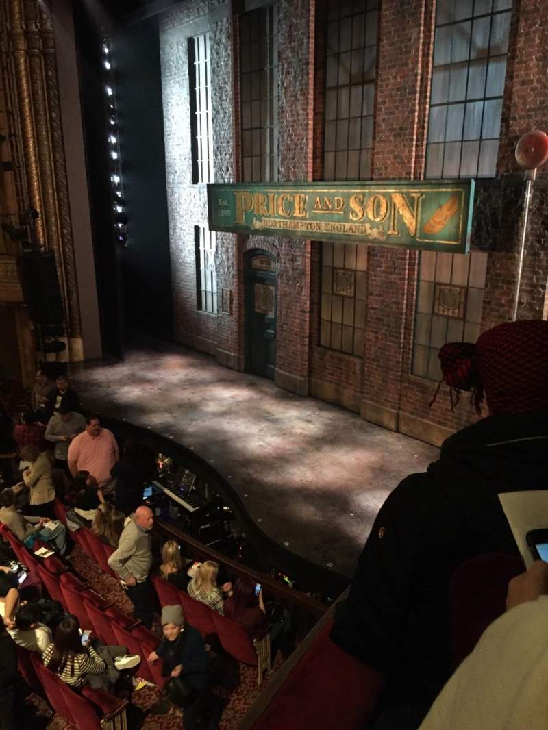 Seating view for Al Hirschfeld Theatre Section Right Box Row E Seat 12