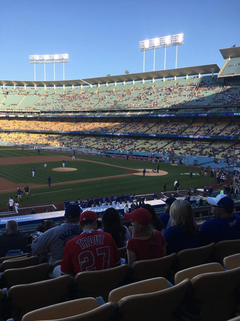 Seating view for Dodger Stadium Section 137LG Row G Seat 6