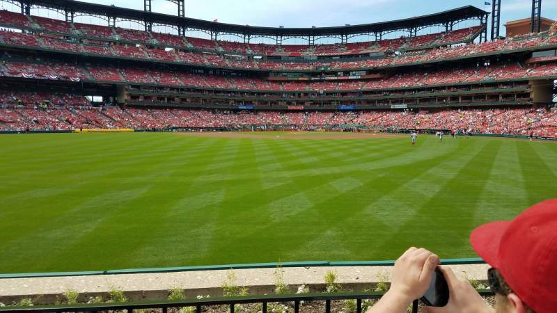 Seating view for Busch Stadium Section 197 Row 2 Seat 6
