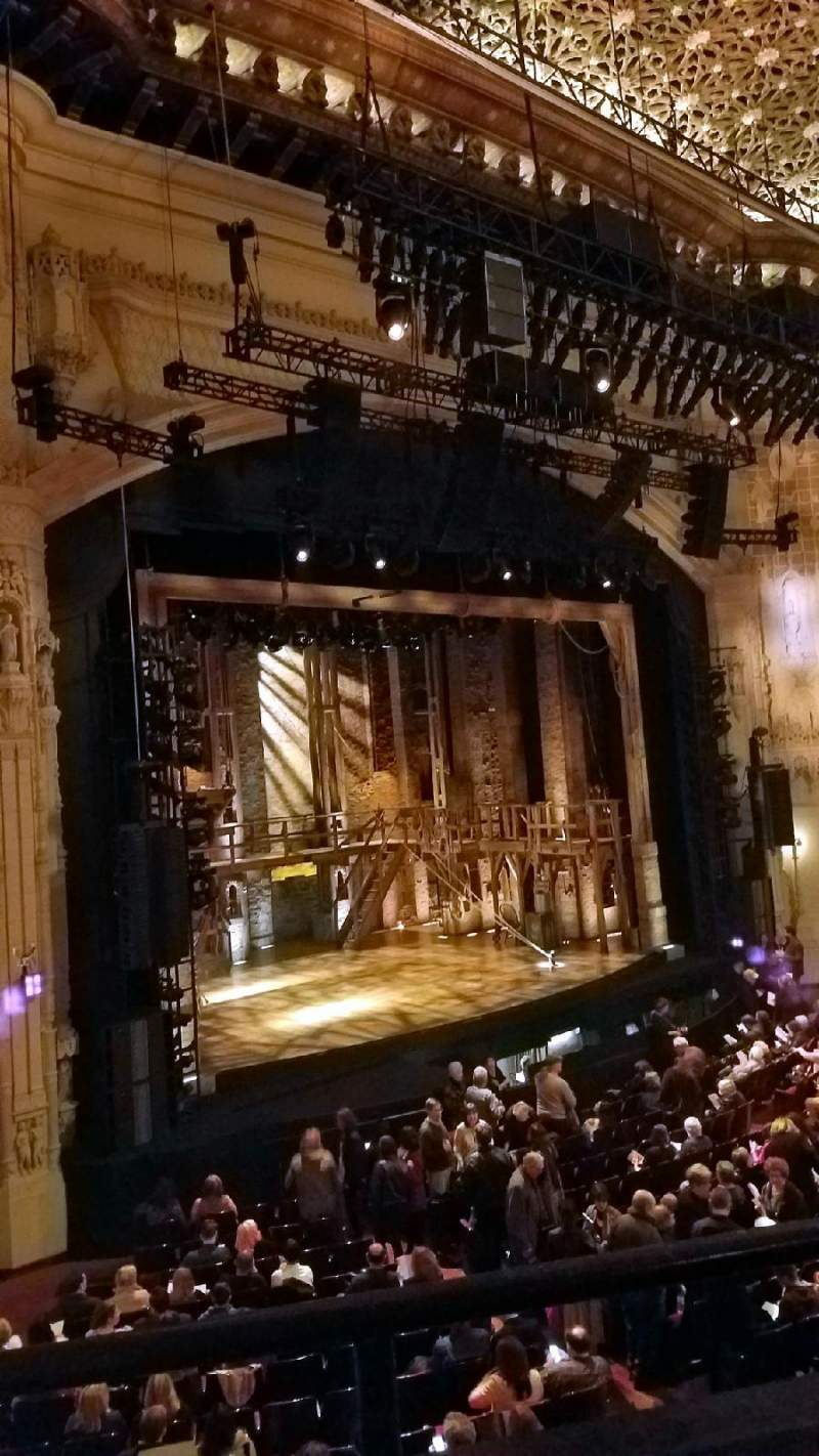 Seating view for Orpheum Theatre (San Francisco) Section Loge L Row B Seat 29
