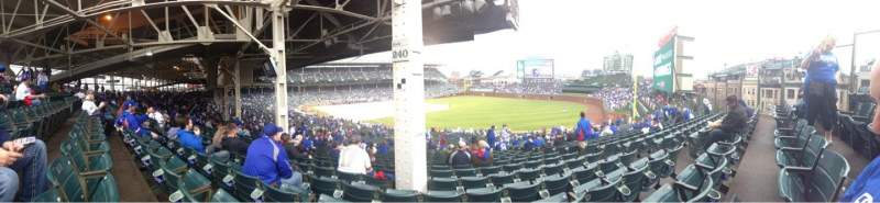Seating view for Wrigley Field Section 240 Row 24 Seat 107