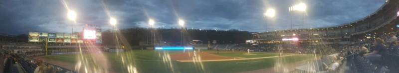 Seating view for PNC Field Section 27 Row 4 Seat 14