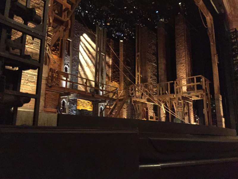 Seating view for Orpheum Theatre (San Francisco) Section Orchestra L Row B Seat 5