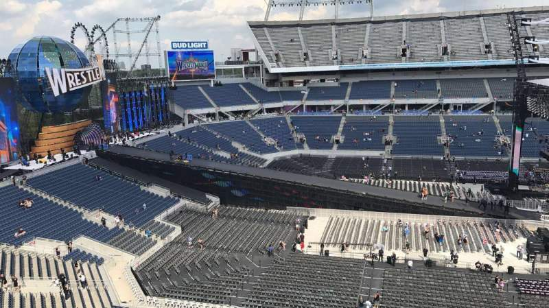 Seating view for Camping World Stadium Section 237 Row K Seat 13