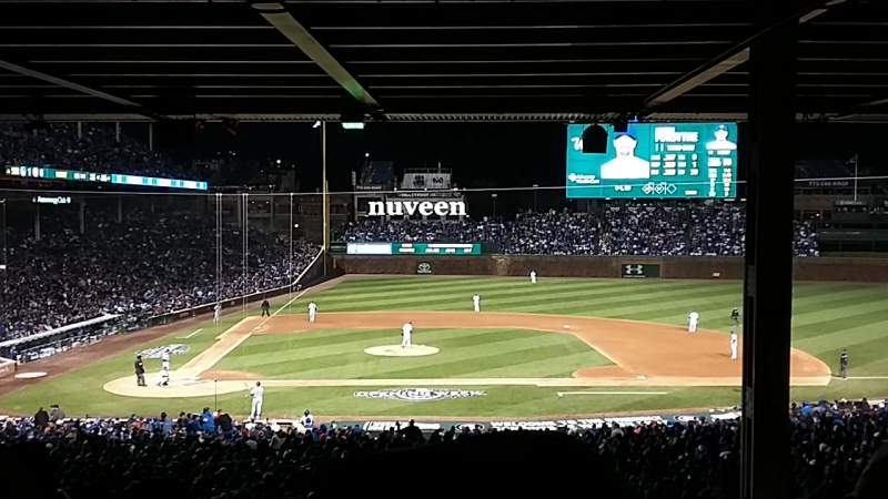 Wrigley Field, section 228, home of Chicago Cubs