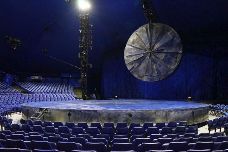 Seating view for Cirque Du Soleil - Luzia Section 101 Row G Seat 16
