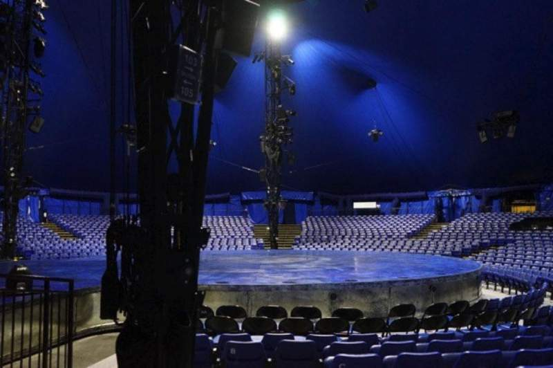 Seating view for Cirque Du Soleil - Luzia Section 103 Row G Seat 36