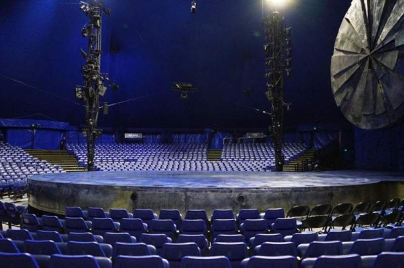 Seating view for Cirque Du Soleil - Luzia Section 104 Row F Seat 14