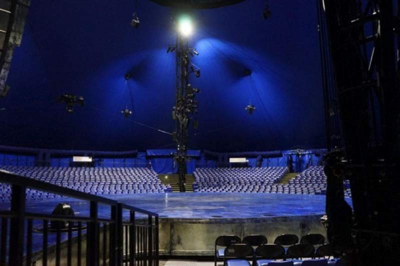 Seating view for Cirque Du Soleil - Luzia Section 105 Row F Seat 1