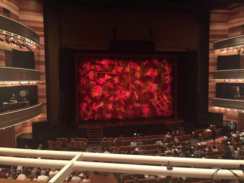 Seating view for Eccles Theater Section 1TL Row A Seat 104