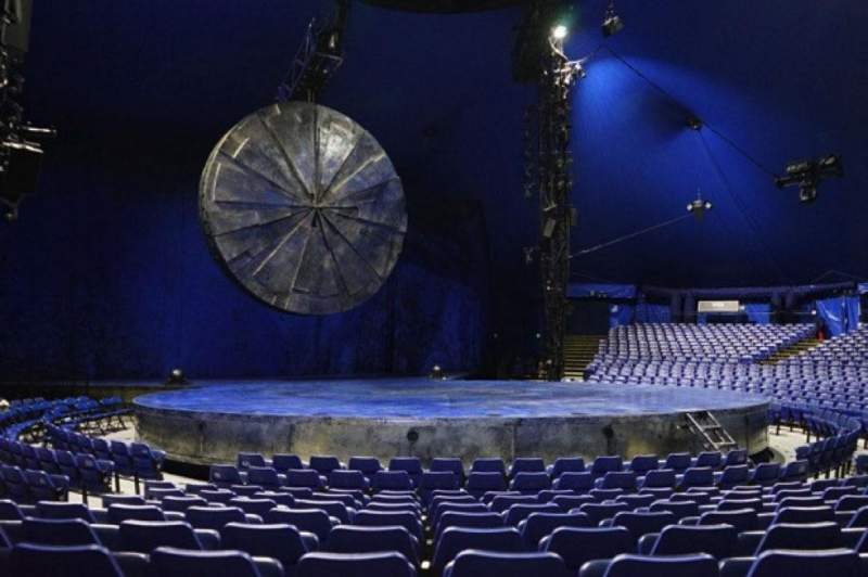 Seating view for Cirque Du Soleil - Luzia Section 200 Row H Seat 6