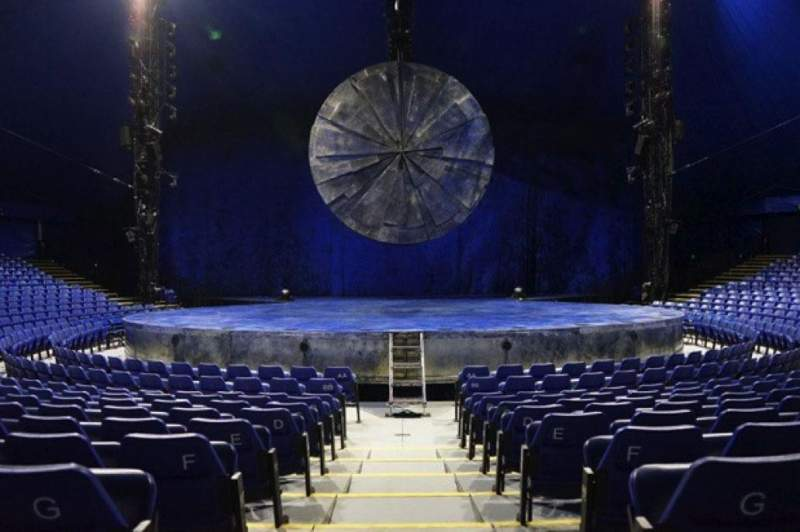 Seating view for Cirque Du Soleil - Luzia Section 200 Row H Seat 12