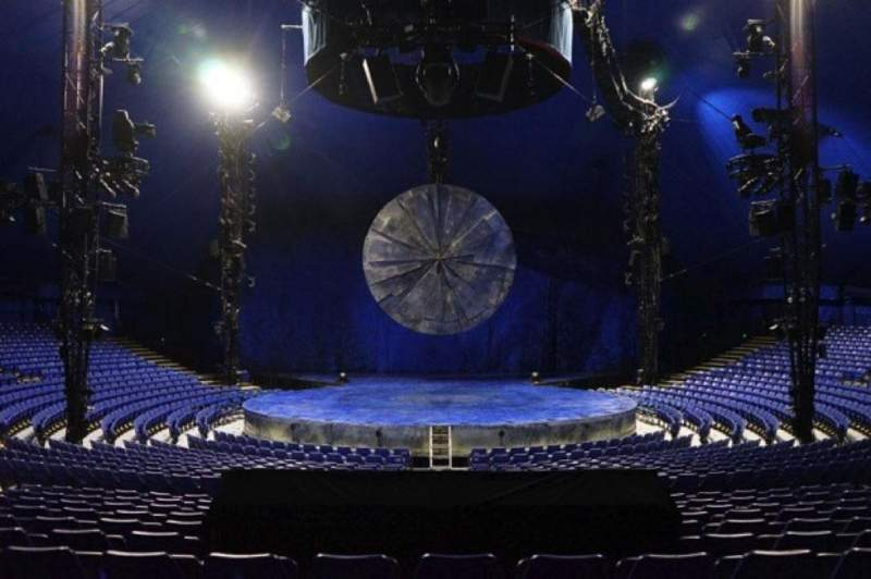Seating view for Cirque Du Soleil - Luzia Section 200 Row R Seat 16