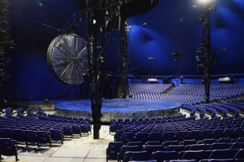Seating view for Cirque Du Soleil - Luzia Section 201 Row N Seat 21