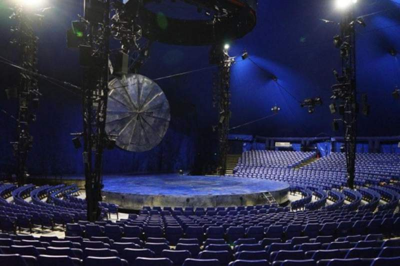 Seating view for Cirque Du Soleil - Luzia Section 201 Row O Seat 12