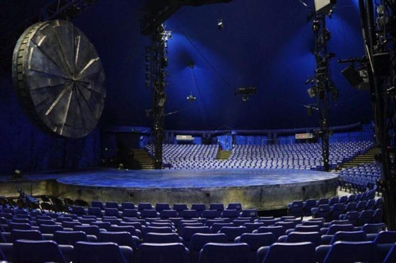 Seating view for Cirque Du Soleil - Luzia Section 203 Row H Seat 8