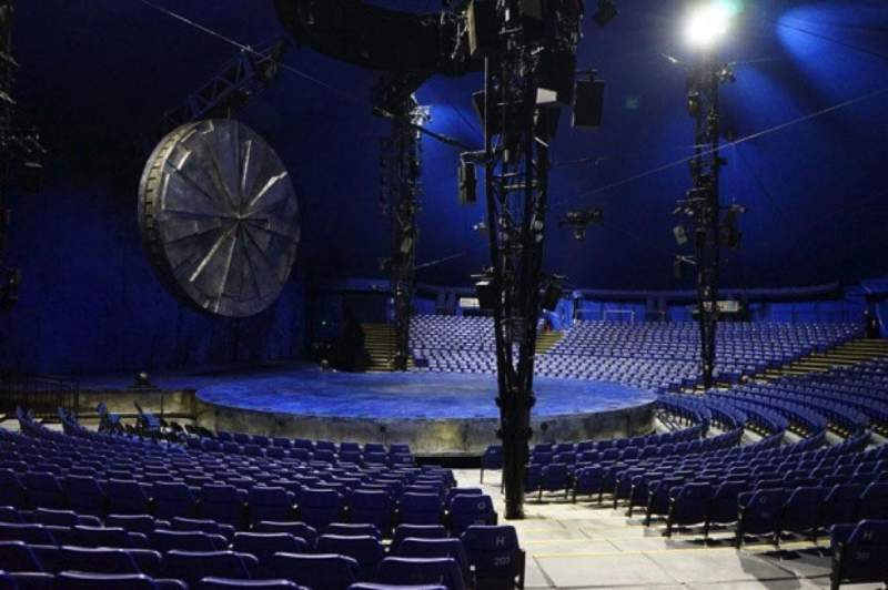 Seating view for Cirque Du Soleil - Luzia Section 203 Row N Seat 1
