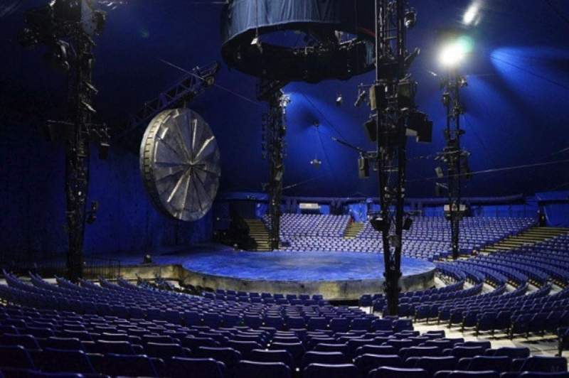 Seating view for Cirque Du Soleil - Luzia Section 203 Row R Seat 6