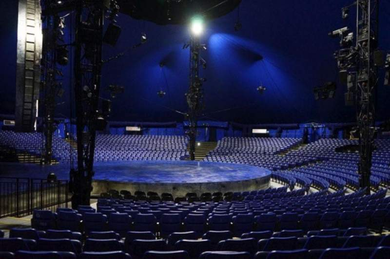 Seating view for Cirque Du Soleil - Luzia Section 205 Row M Seat 9
