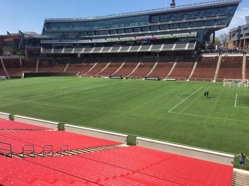 Seating view for Nippert Stadium Section 102 Row 33 Seat 10