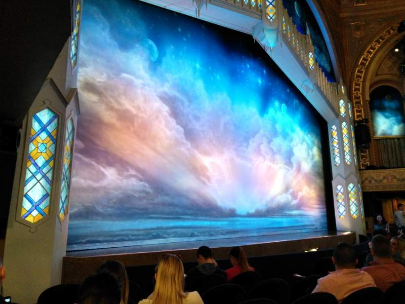 Seating view for Eugene O'Neill Theatre Section Orchestra L Row F Seat 17