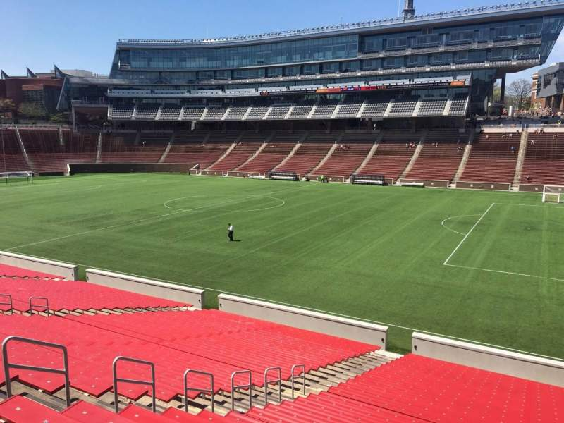 Seating view for Nippert Stadium Section 102 Row 32 Seat 9